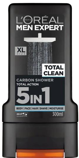 L'Oréal Paris Men Expert Total Clean Shower Gel 巴黎欧莱雅男士沐浴露300毫升