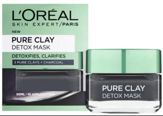 L'Oréal Paris Pure Clay Detox Face Mask 巴黎欧莱雅纯粘土排毒面膜50毫升
