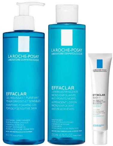 La Roche-Posay Effaclar 抗痘祛痘三步骤