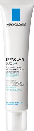 La Roche-Posay Effaclar Duo+ 40ml (La Roche-Posay 滋润舒缓保湿霜40毫升)