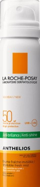La Roche-Posay Anthelios Invisible Face Mist SPF 50隐形面部喷雾式防晒霜