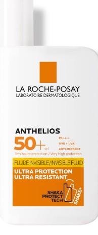 La Roche-Posay Anthelios Ultra-Light Invisible Fluid SPF50+ Sun Cream 50ml (La Roche-Posay Anthelios 理肤泉超轻隐形防晒霜SPF50 50毫升)