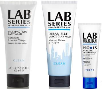 Lab Series Skincare For Men Treat Bundle男士护肤套装系列(护肤三重奏)