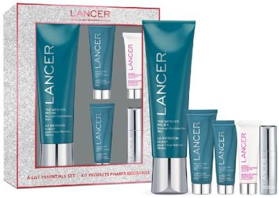 Lancer A-List Essentials 5-Piece Set 5种精选护肤套装