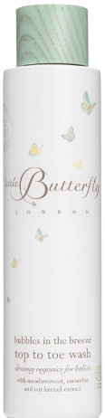 Little Butterfly London Bubbles in the Breeze Top to Toe Wash 200ml伦敦小蝴蝶沐浴露 200毫升