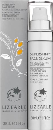 Liz Earle Superskin Face Serum 30ml Pump (Liz Earle 超级护肤精华素)