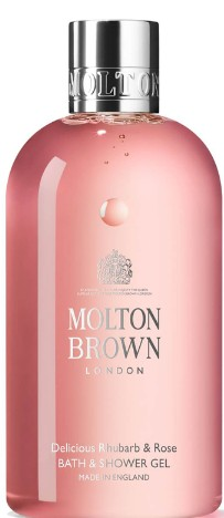 Molton Brown Delicious Rhubarb and Rose Bath & Shower Gel 沐浴露
