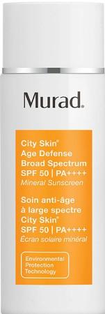 Murad City Skin Age Defense Broad Spectrum SPF 50 PA ++++ (Murad 抗衰老防御保湿防晒霜 SPF 50 PA ++++ )