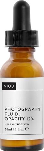 NIOD Photography Fluid, Opacity 12% 30ml (NIOD 无色不透明摄影精华液 12% 30毫升)
