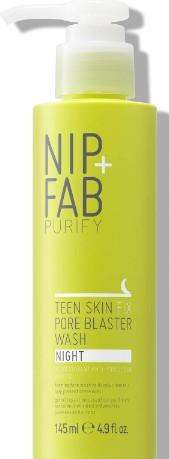 NIP+FAB Teen Skin Fix Pore Blaster Night Wash 145ml (NIP+FAB 青少年修复毛孔洁面霜 145毫升)