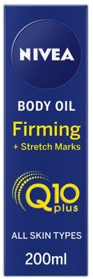 NIVEA Q10 Body Oil, Firming + Stretch Marks 妊娠纹紧致身体油200毫升