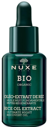 NUXE Rice Oil Extract Ultimate Night Recovery Oil 大米油提取物夜间修复精华油30毫升