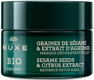 NUXE Sesame Seeds and Citrus Extract Radiance Detox Mask 芝麻和柑橘提取物排毒亮肤面膜50毫升