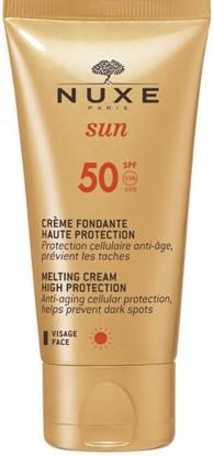 NUXE Sun High Protection Fondant Cream for Face SPF 50 (50ml) (NUXE 防晒霜 SPF 50 (50毫升))