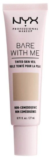 NYX Professional Makeup Bare With Me Tinted Skin Veil BB Cream 专业彩妆BB霜27毫升 【多种颜色可供选择】