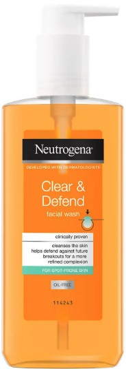Neutrogena® Clear & Defend Facial Wash 露得清防御洁面乳