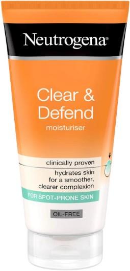 Neutrogena® Clear & Defend Oil Free Moisturiser无油防御保湿面霜50毫升