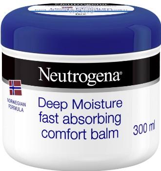 Neutrogena Norwegian Formula Deep Moisture Comfort Balm with Glycerine and Shea Butter 露得清挪威深层保湿护肤膏300毫升