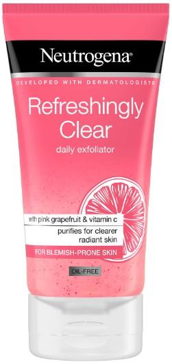 Neutrogena Refreshingly Clear Daily Exfoliator 露得清清爽去角质霜150毫升