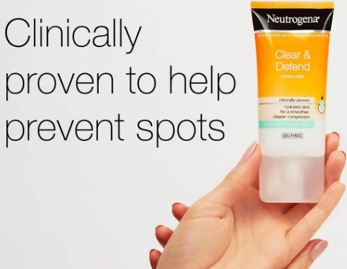 Neutrogena Spot Proofing露得清祛痘护肤产品