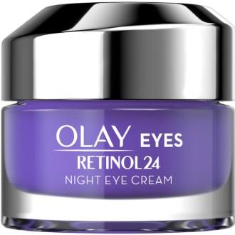Olay Retinol 24 Fragrance Free Night Eye Cream for Smooth and Glowing Skin 玉兰油视黄醇24夜间眼霜15毫升