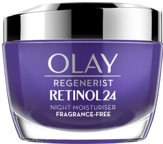 Olay Retinol 24 Fragrance Free Night Face Cream for Smooth and Glowing Skin 玉兰油视黄醇保湿晚霜50毫升
