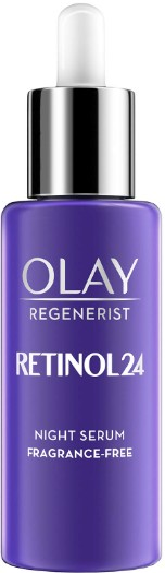 Olay Retinol 24 Fragrance Free Night Serum for Smooth and Glowing Skin 玉兰油视黄醇晚间精华液40毫升