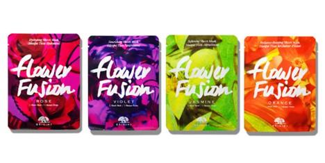 Origins Flower Fusion™ Hydrating Sheet Mask - Rose /Violet/Jasmine/Orange (Origins 玫瑰花/紫罗兰/茉莉花/橘子花片装保湿面膜)