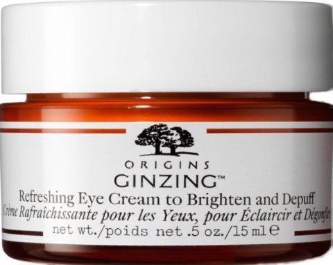 Origins GinZing Refreshing Eye Cream to Brighten and Depuff 15ml (Origins GinZing 清爽眼霜 15 毫升)