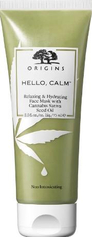 Origins Hello, Calm Relaxing and Hydrating Face Mask 75ml (Origins 悦木之源镇定保湿你好面膜 75 毫升)