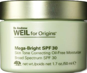 Origins Mega-Bright SPF 30 Skin Tone Correcting Oil-Free Moisturiser 50ml (Origins 改善肤色的无油防晒保湿霜 50 毫升)