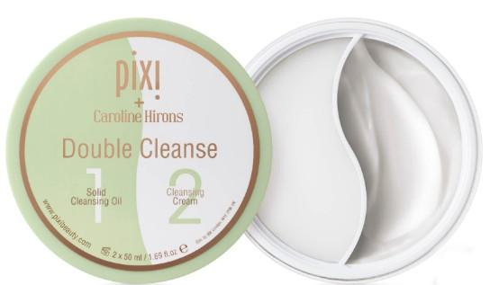 PIXI Double Cleanse (Pixi 固体洁面油和洁面霜 – 2合1)