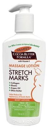 Palmer's Cocoa Butter Formula Massage Lotion For Stretch Marks帕尔默可可脂配方妊娠纹按摩乳液250毫升
