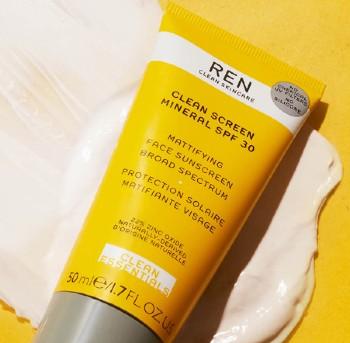 REN Clean Skincare Clean Screen Mineral SPF30 50ml (REN Clean Skincare 防晒霜 SPF30 50毫升)