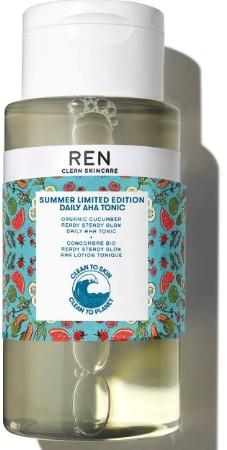 REN Clean Skincare Summer Limited Edition Daily AHA Tonic 夏季限量版AHA爽肤水250毫升