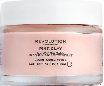 Revolution Beauty Pink Clay Detoxifying Face Mask 粉红粘土排毒面膜50毫升