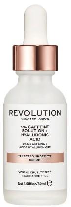 Revolution Beauty Targeted Under Eye Serum - 5% Caffeine + Hyaluronic Acid Serum 5% 咖啡因透明质酸眼部精华液30毫升