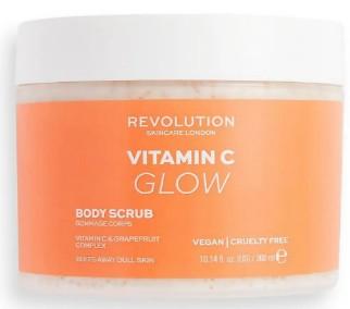 Revolution Body Skincare Vit C (Glow) Body Scrub 维他命C身体护肤磨砂膏300毫升