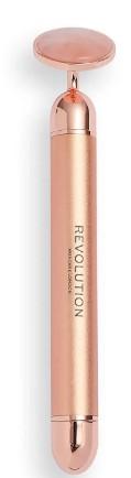 Revolution Skincare Vibrating Rose Quartz Face Roller 玫瑰石英面部振动滚轮