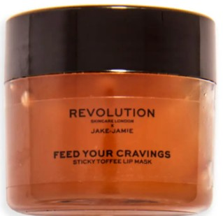 Revolution x Jake Jamie Sticky Toffee Pudding Lip Mask 粘稠太妃糖布丁唇膜15毫升
