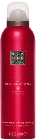 Rituals The Ritual of Ayurveda Foaming Shower阿育吠陀系列泡沫沐浴露 Gel 200毫升