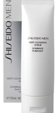 Shiseido Mens Deep Cleansing Scrub