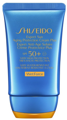 Shiseido Wet Force Expert Sun Aging Protection Cream Plus SPF50+