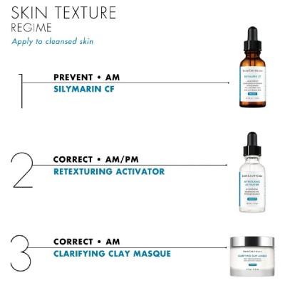 SkinCeuticals修丽可为您搭配改善皮肤质地的几个步骤