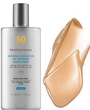 SkinCeuticals Mineral Radiance UV Defense SPF50 Sunscreen Protection 修丽可矿物防护防晒霜50毫升