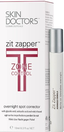 Skin Doctors Zit Zapper T Zone Control Overnight Spot Corrector (Skin Doctors镇定消除痘痘涂抹液)