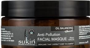 Sukin Oil Balancing + Charcoal Anti-Pollution Facial Masque油脂平衡+木炭抗污染面膜