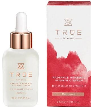 TRUE Skincare Radiance Renewal 10% Stabilised Vitamin C Serum 10%稳定维他命C精华液30毫升