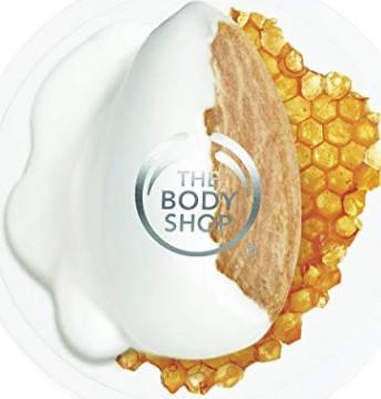 The Body Shop Almond Milk & Honey Soothing & Restoring Body Butter美体小铺杏仁牛奶和蜂蜜身体护肤膏