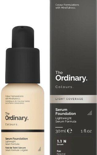 The Ordinary Serum Foundation with SPF 15 by The Ordinary Colours防晒精华粉底液30毫升